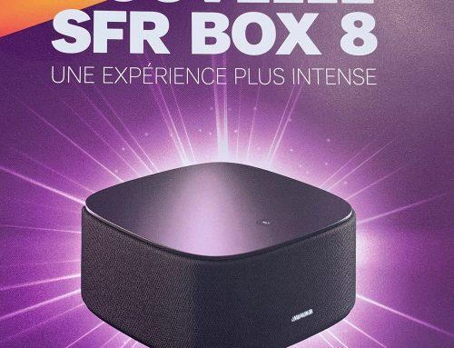 SFR dévoile son nouveau décodeur, la SFR BOX 8